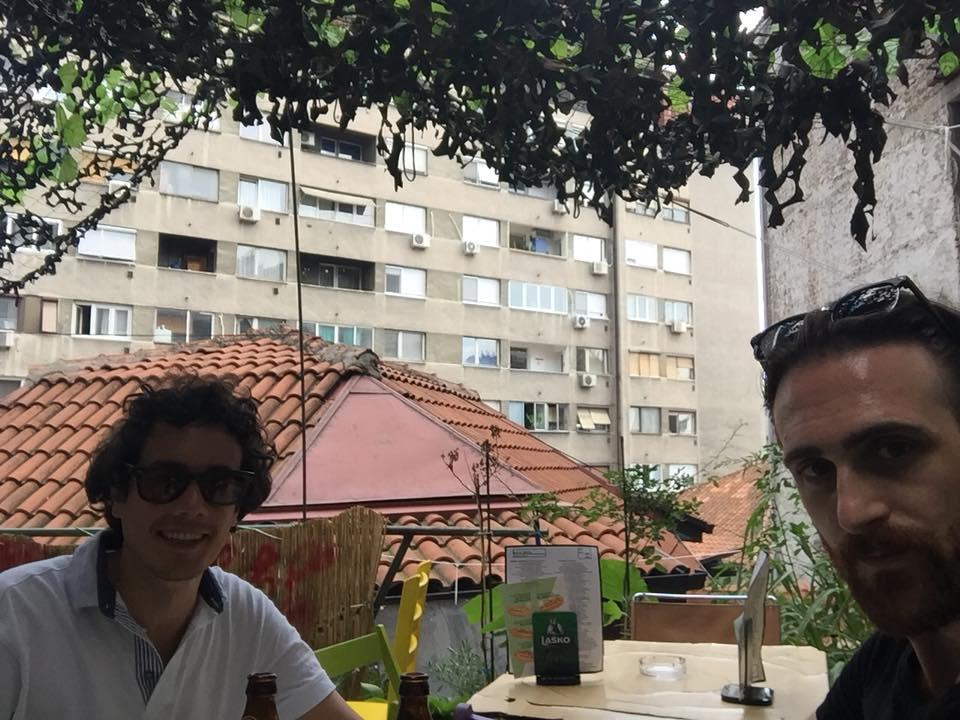 aperitivo a Belgrado