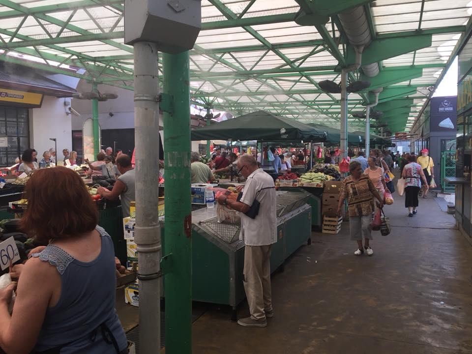 mercato a Belgrado