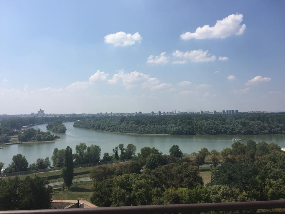 confluenza Sava Danubio Kalemegdan