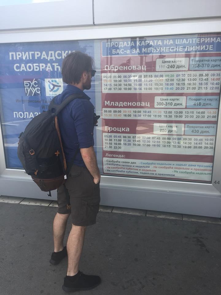 Orari bus stazione di Belgrado