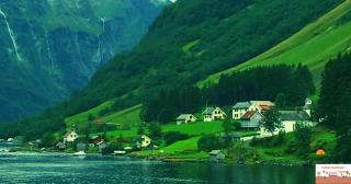gudvangen fjord cosa-vedere in norvegia