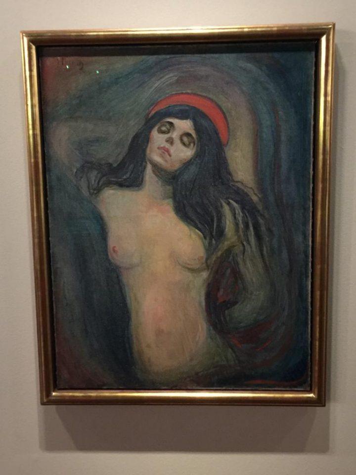 Madonna di Munch conservata al Museo Munch di Oslo