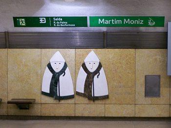 Un viaggio in metro e nella storia: Martim Moniz