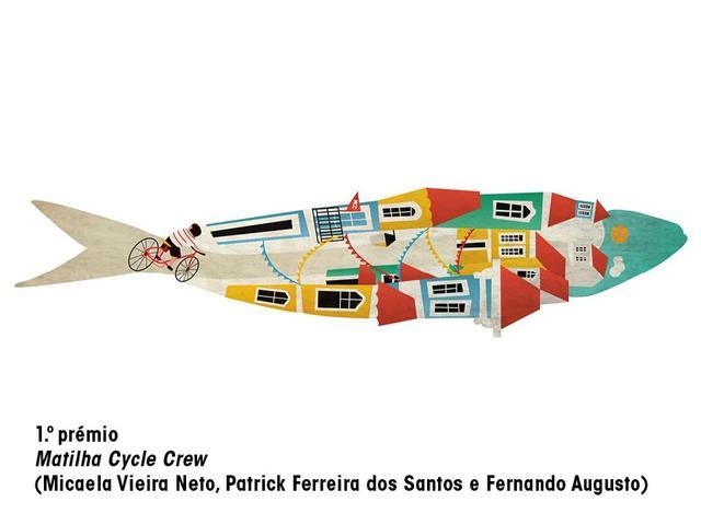 Disegna una sardina per la festa di Lisbona 3