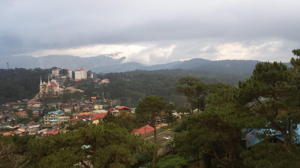 paesaggio di montagna in cosa vedere e dove andare nelle filippine