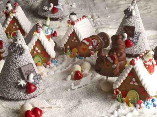 Natale alla pasticceria Divan di Istanbul