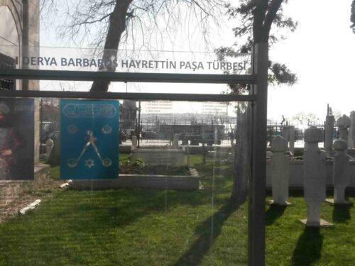 Barbarossa e la sua tomba a Beşiktaş