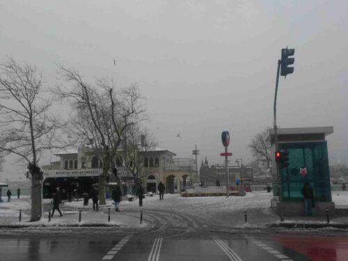 La nevicata del febbraio 2015 a Istanbul