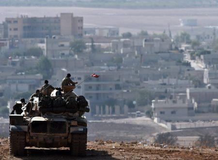 """La Turchia e la """"zona Isil"""" in Siria"""