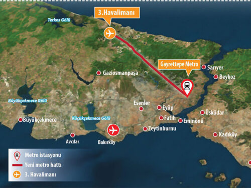 Nuovo aeroporto, nuova metro (a Istanbul)