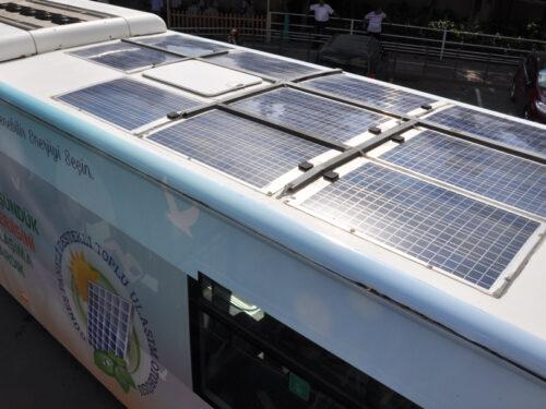 Gli autobus ad energia solare di Istanbul