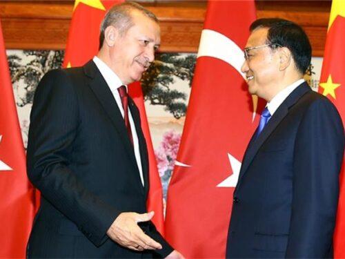 Erdoğan in Cina