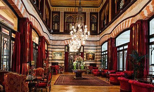 Dentro il Pera Palace Hotel
