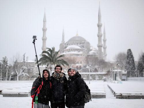 Cosa succede a Istanbul quando nevica