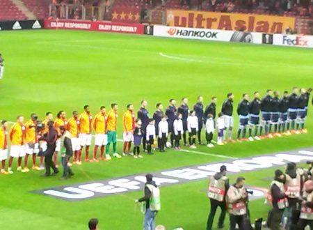 Galatasaray-Lazio, foto e commenti