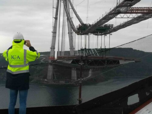 Il terzo ponte sul Bosforo, lavori in corso