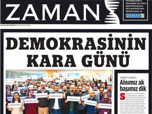 Zaman e la libertà di stampa in Turchia