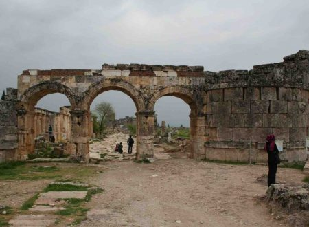 In vacanza in Turchia, Pamukkale e Hierapolis