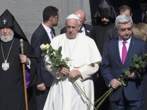 Papa Francesco, il genocidio armeno e la Turchia