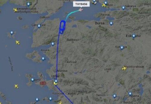 L'aereo di Erdoğan e le scie chimiche