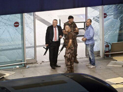Sicurezza all'aeroporto Atatürk di Istanbul