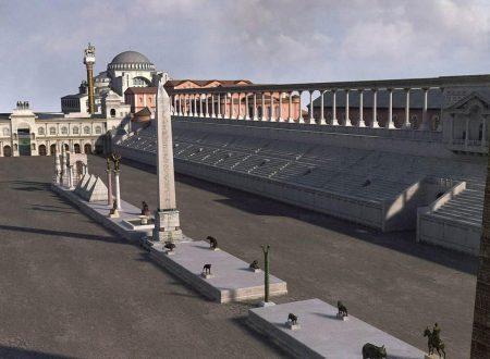 Istanbul romana, le ricostruzioni digitali di Byzantium 1200