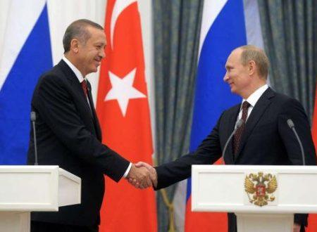 Il nuovo incontro tra Erdoğan e Putin