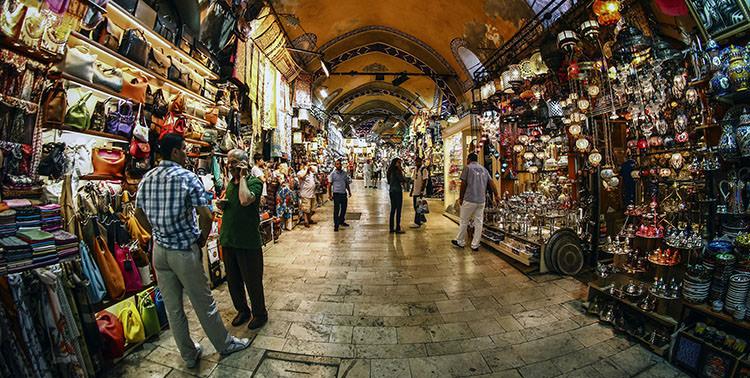 Vestirsi Al Gran Bazar Istanbul Europa