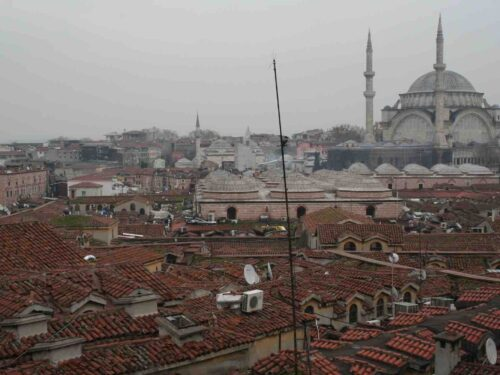 Sopra i tetti del Gran Bazar