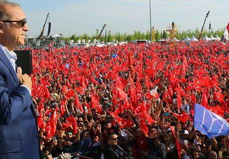 Erdoğan, la democrazia e l'unità nazionale