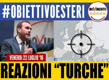 Fuori la Turchia dalla Nato (dicono i grillonzi)