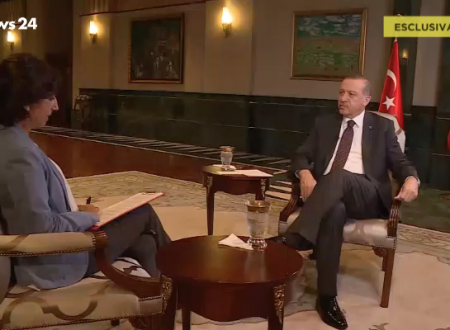 Lucia Goracci intervista Erdoğan su Rainews24