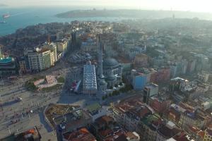 La nuova moschea di piazza Taksim