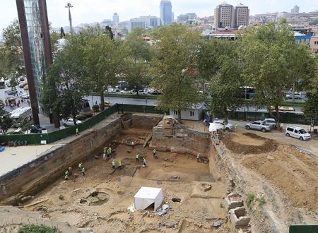 Nuove scoperte archeologiche a Istanbul (2017)