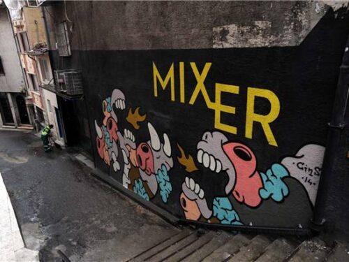 Le gallerie d'arte a Istanbul, Mixer