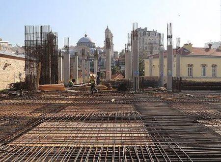 La moschea di Taksim, lavori in corso