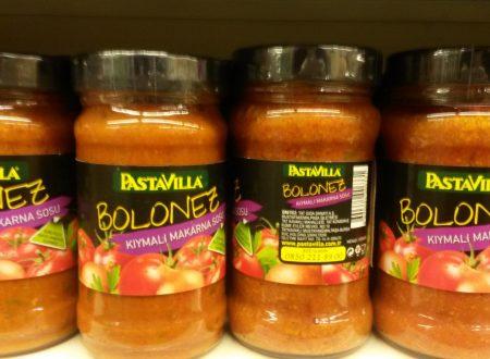 Spaghetti Bolonez, prodotti italianissimi