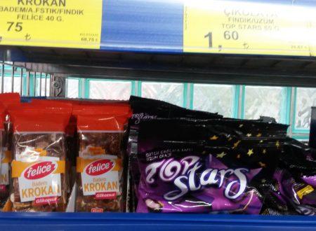 La cioccolata Buono e il croccante Felice