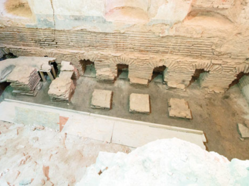 Hamam di Maometto II a Topkapı: una nuova scoperta
