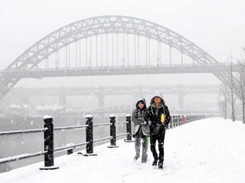 A Newcastle fa più caldo che a Istanbul