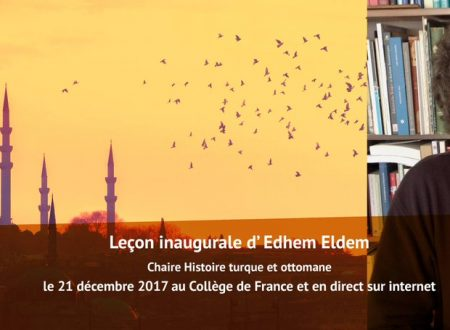 Edhem Eldem al College de France