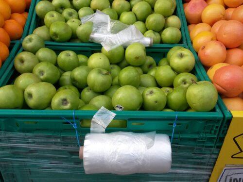 I sacchetti biodegradabili nei supermercati di Istanbul