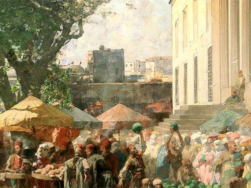 Alberto Pasini e le luci e i colori d'Oriente