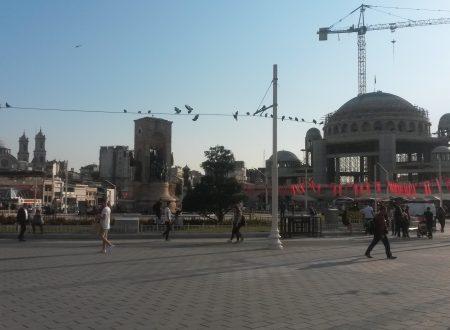 Moschea a piazza Taksim: i lavori avanzano