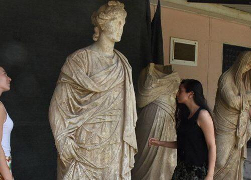 Le statue di Magnesia