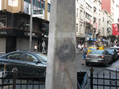 La magnificenza dell'obelisco di Istanbul