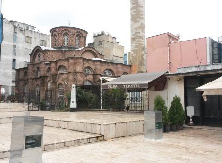 Bodrum camii: la moschea bizantina col piano di sotto