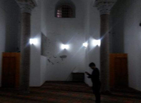 La moschea bizantina al piano di sotto