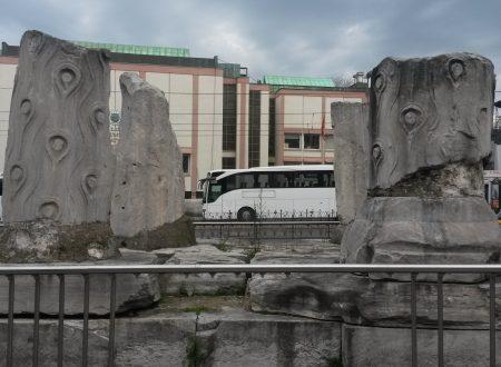 Quel che resta del foro romano di Teodosio