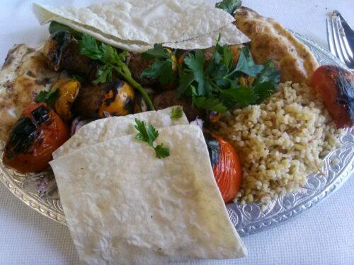 Il kebab dal nuovo mondo (con nespole)